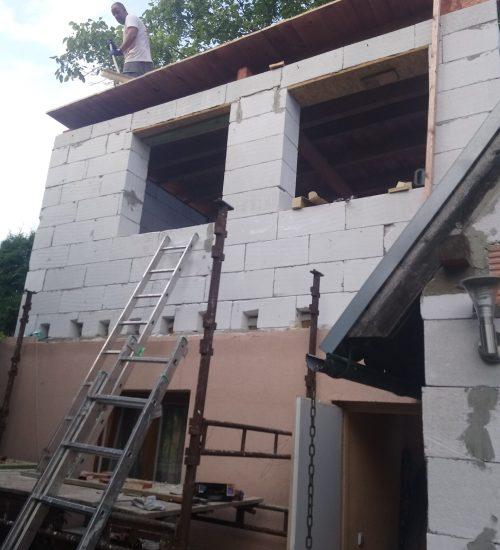 rodinné domky - rekonstrukce, přístavby